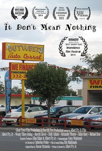 Poster of It Don't Mean Nothing
