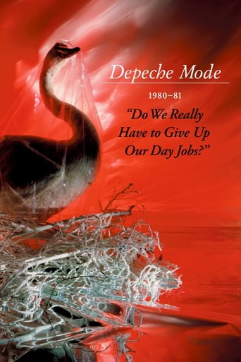 """Poster of Depeche Mode: 1980–81 """"Do We Really Have to Give Up Our Day Jobs?"""""""
