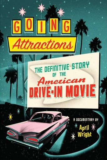 Poster of Going Attractions: The Definitive Story of the American Drive-in Movie