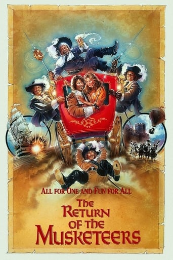 Poster of The Return of the Musketeers