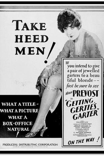 Poster of Getting Gertie's Garter