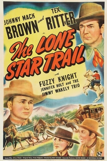 Poster of The Lone Star Trail