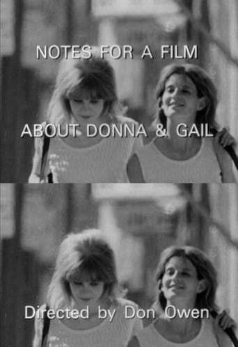 Poster of Notes for a Film About Donna & Gail