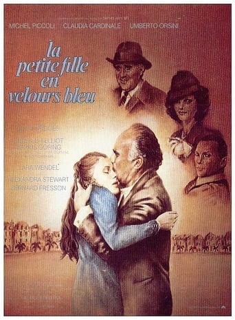 Poster of Little Girl in Blue Velvet
