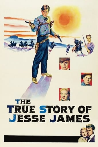Poster of The True Story of Jesse James