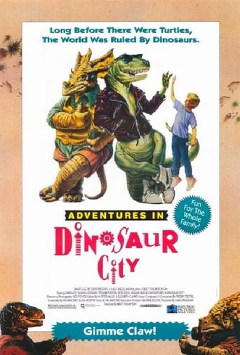 Poster of Adventures in Dinosaur City