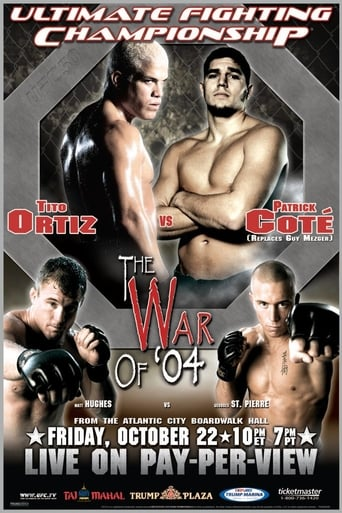 Poster of UFC 50: The War of 04