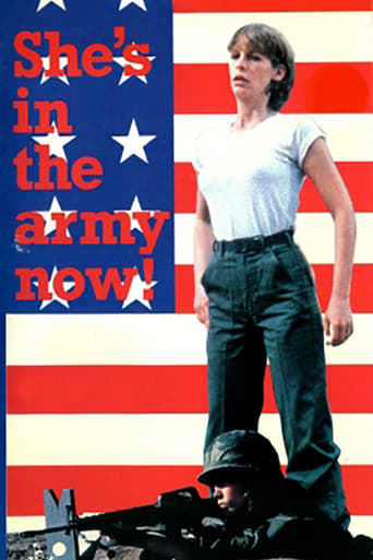 Poster of She's in the Army Now