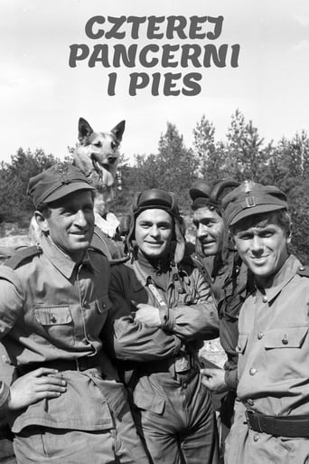 Poster of Four Tank-Men and a Dog