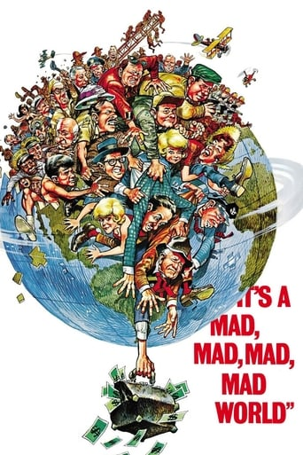Poster of It's a Mad, Mad, Mad, Mad World