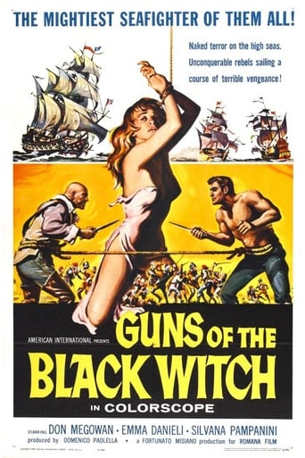 Poster of Guns of the Black Witch