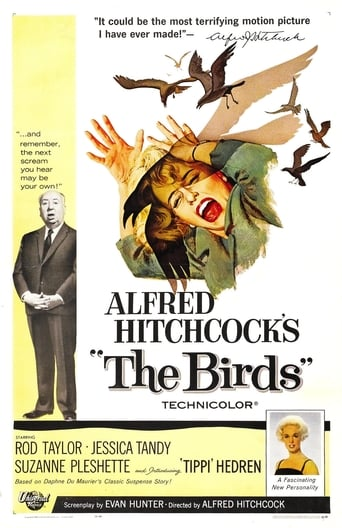 'The Birds': Hitchcock's Monster Movie poster