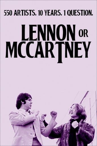 Lennon or McCartney poster