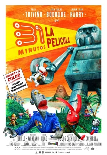 Poster of 31 Minutos: The Movie