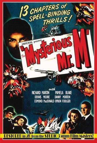 Poster of The Mysterious Mr. M