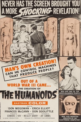 Poster of The Creation of the Humanoids