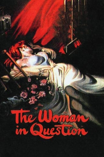 Poster of The Woman in Question