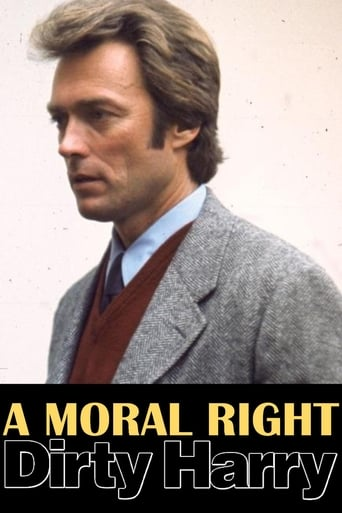 Poster of A Moral Right: The Politics of Dirty Harry