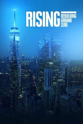 Poster of Rising: Rebuilding Ground Zero