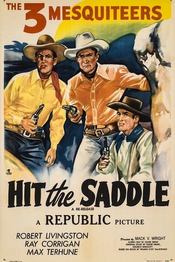 Poster of Hit the Saddle