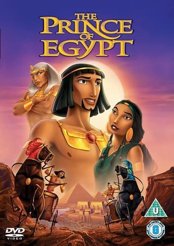 Poster of The Prince of Egypt: From Dream to Screen