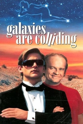 Poster of Galaxies Are Colliding