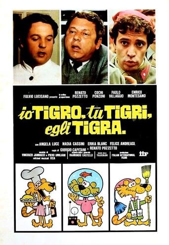Poster of Io tigro, tu tigri, egli tigra