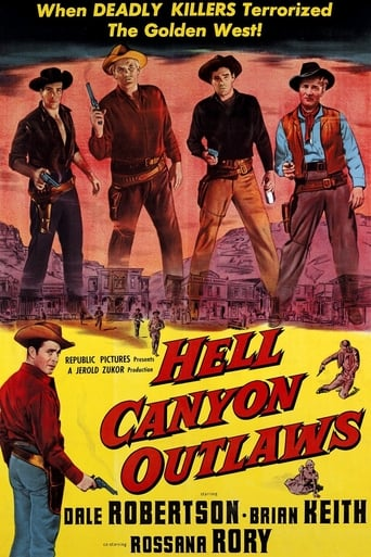 Poster of Hell Canyon Outlaws