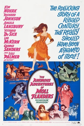 Poster of The Amorous Adventures of Moll Flanders