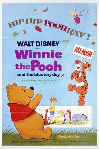 Poster of Winnie the Pooh and the Blustery Day
