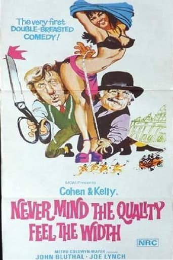Poster of Never Mind the Quality: Feel the Width