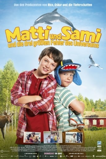 Poster of Matti and Sami and the Three Biggest Mistakes in the Universe