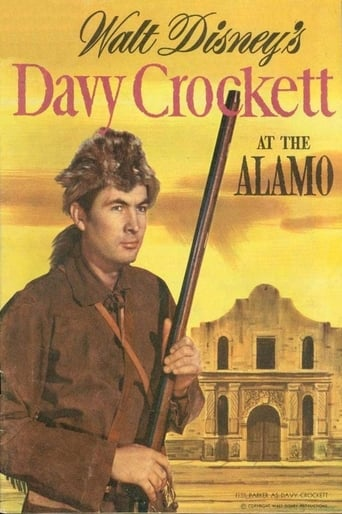 Poster of Davy Crockett at the Alamo