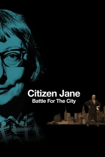Poster of Citizen Jane: Battle for the City