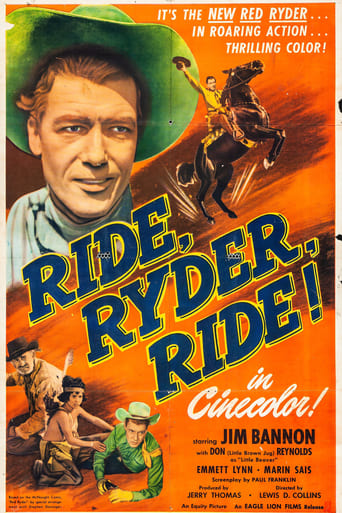 Poster of Ride, Ryder, Ride!