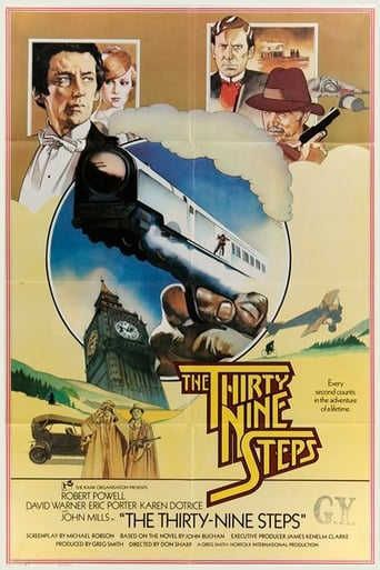 Poster of The Thirty Nine Steps