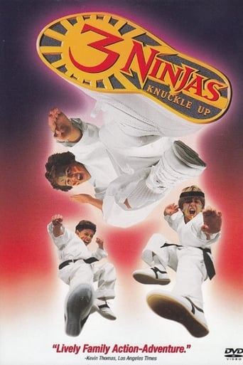 Poster of 3 Ninjas Knuckle Up