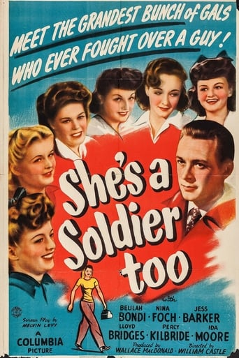 Poster of She's a Soldier Too