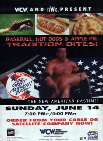 Poster of WCW The Great American Bash 1998