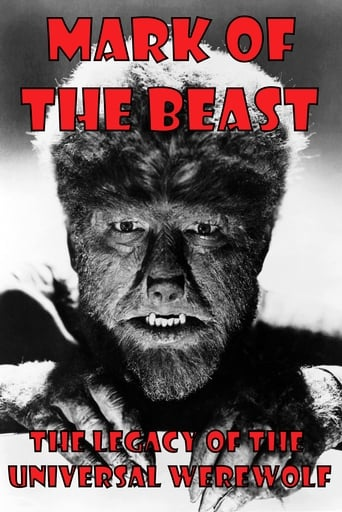 Poster of Mark of The Beast: The Legacy of the Universal Werewolf