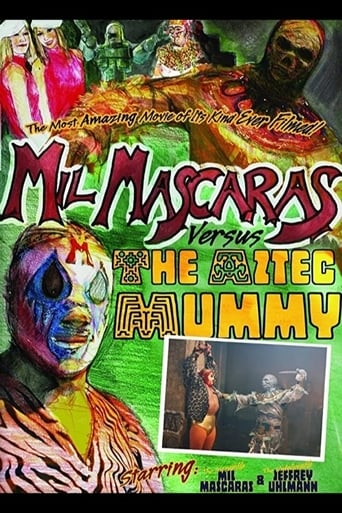 Poster of Mil Mascaras vs. the Aztec Mummy