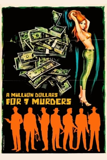 Poster of A Million Dollars for 7 Murders