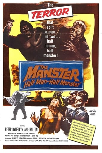 Poster of The Manster