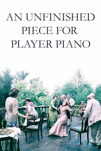 Poster of An Unfinished Piece for Player Piano