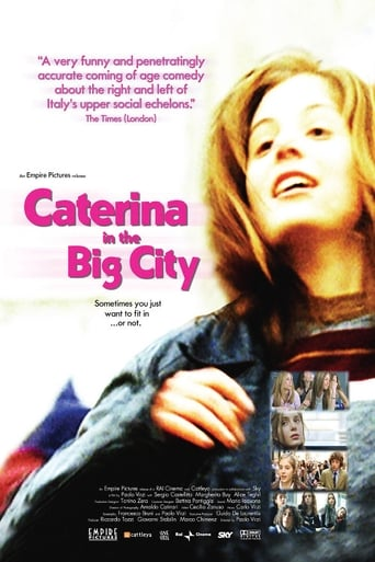 Poster of Caterina in the Big City