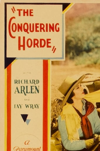 Poster of The Conquering Horde