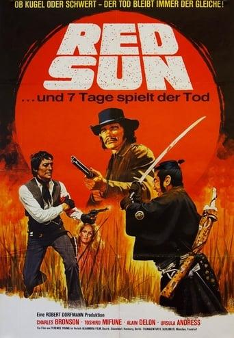 Filmplakat von Rivalen unter roter Sonne