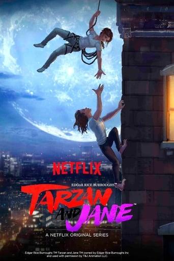 Filmplakat von Tarzan und Jane