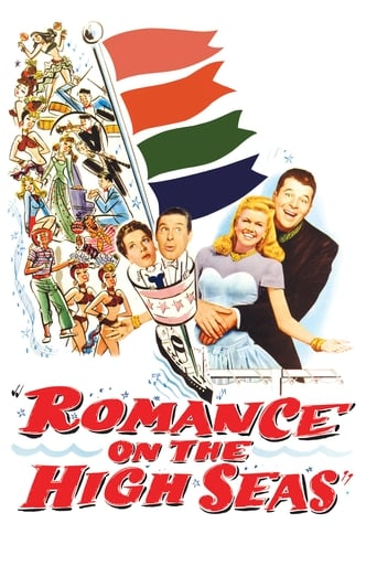 Poster of Romance on the High Seas