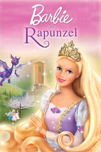 Poster of Barbie as Rapunzel